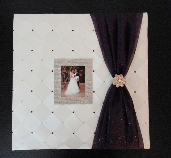Wedding Photo Album Personalized Wedding Photo Album Picture Etsy