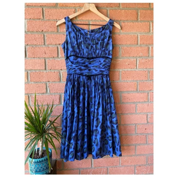 Jonathan Logan Vintage 1950's Fit & Flare Dress