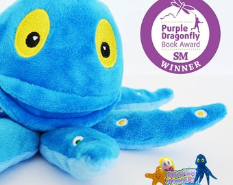 Oliver the Octopus Plush Toy