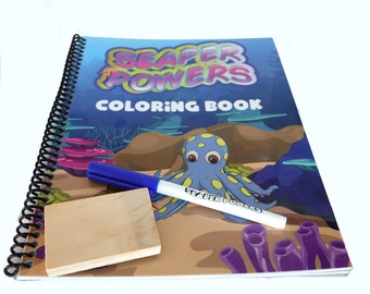 Seaper Powers FOREVER Coloring Book