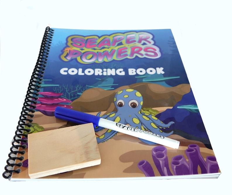 Seaper Powers FOREVER Coloring Book Coloring Book
