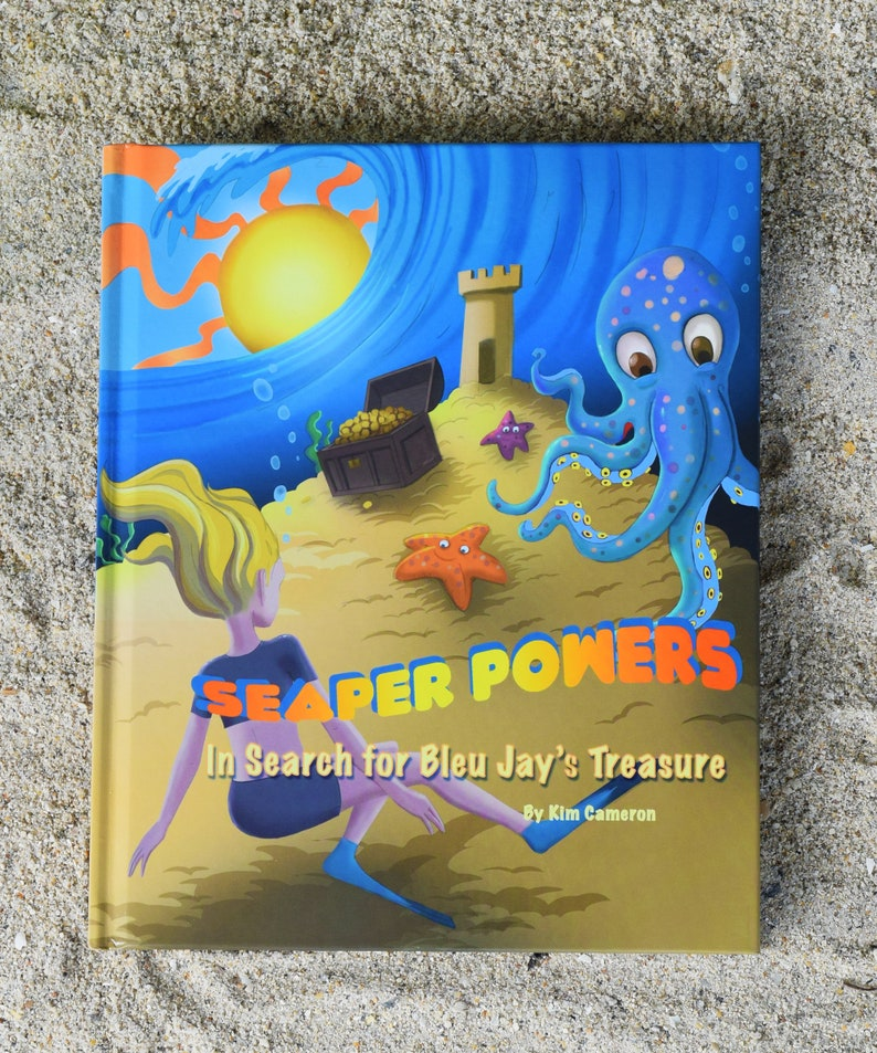 Seaper Powers:  In Search of Bleu Jay's Treasure 4th Edition