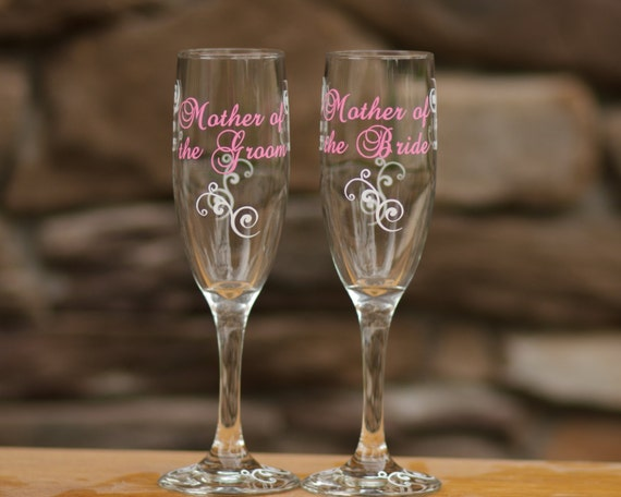 Mother Of The Groom Gift: Items Similar To 1 Personalized Mother Of The Bride Or