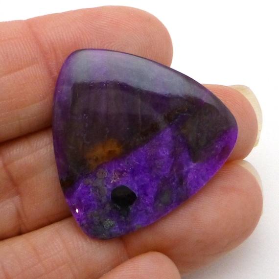 Sugilite grand grand Sugilite Cabochon violet Magenta billions de forme à la main un d'une gemme unique parfait pour un pendentif 7d88bf