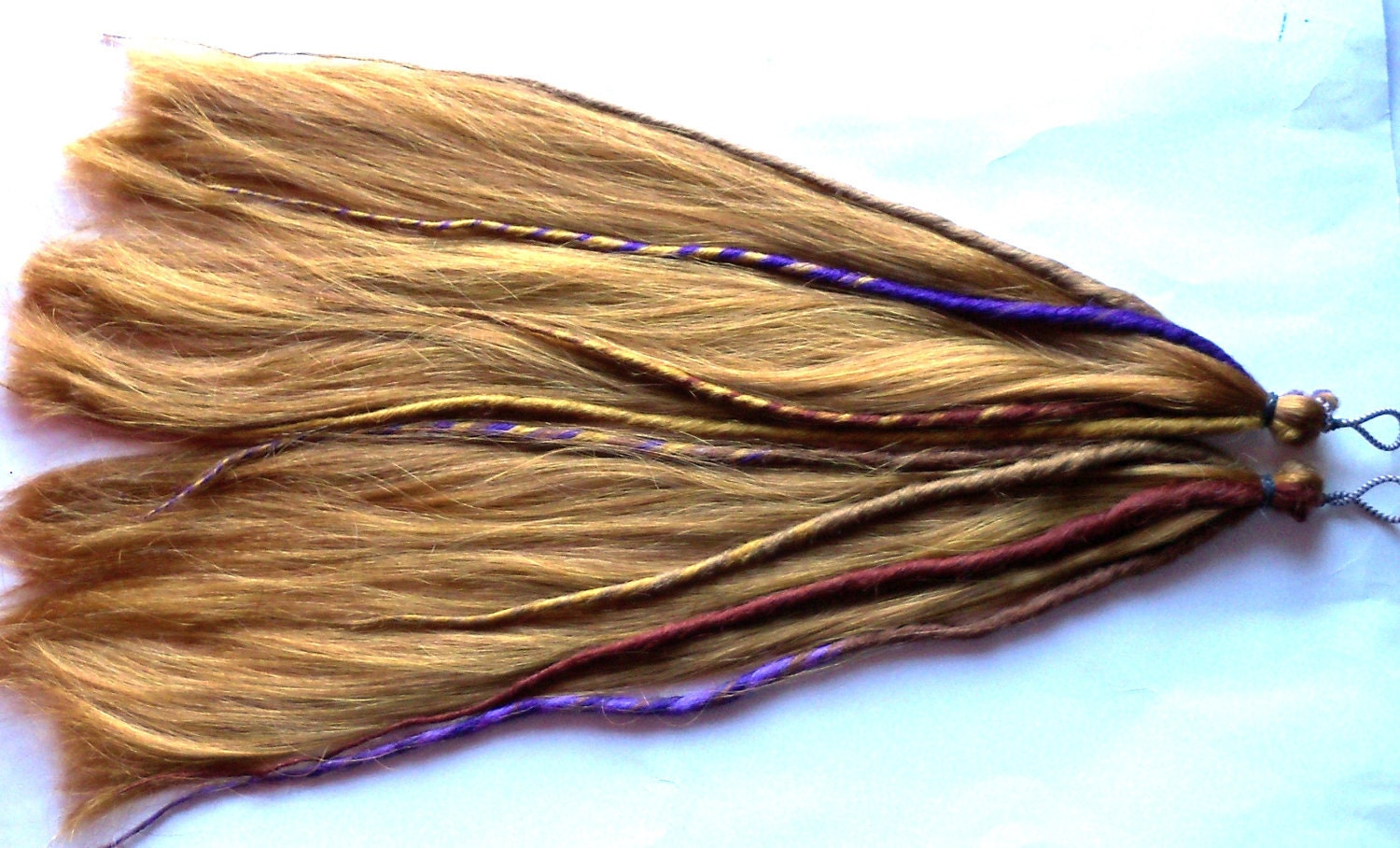 Accent Dreads Dreadlock Pony Tail Falls Hair Extensions Extra Long