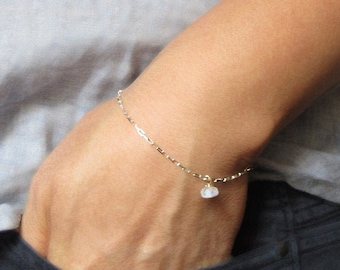 Genuine Jasper+Biwa Pearls+Rainbow Moonstone Big Pendant Necklace Weird+Big+Beautiful