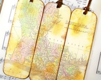 World map bookmarks etsy gumiabroncs Choice Image