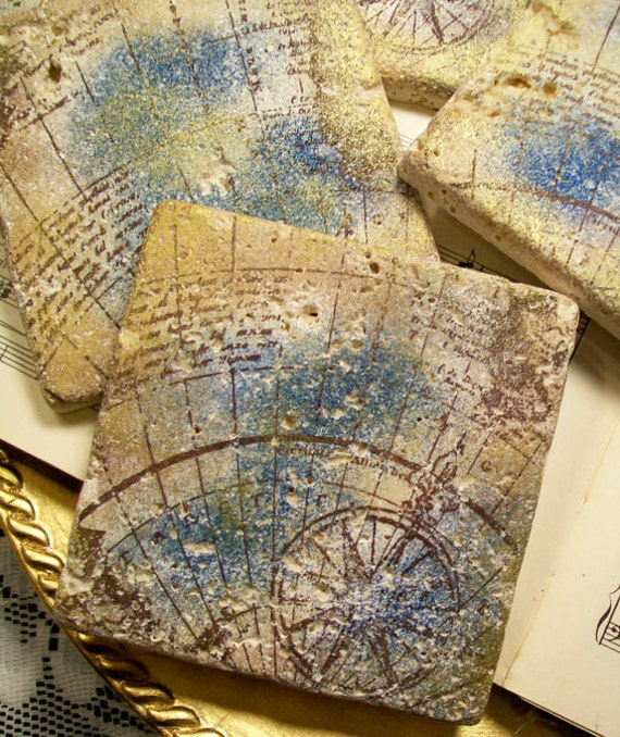 Gifts for men old world map of antarctica antiqued in gold etsy image 0 gumiabroncs Choice Image