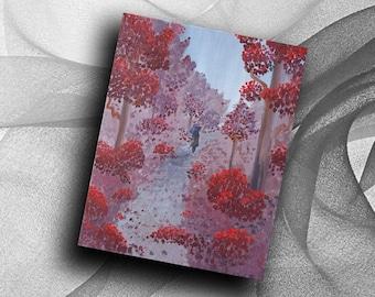 Woods of Wine - print
