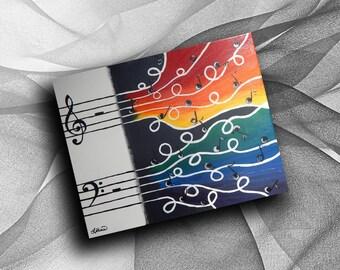 Colour of Music - print