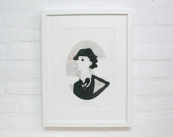 Coco Chanel Print