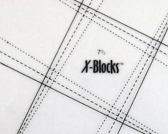 "X Blocks Tool 7 1/2"" XB Quilt Queen Design"