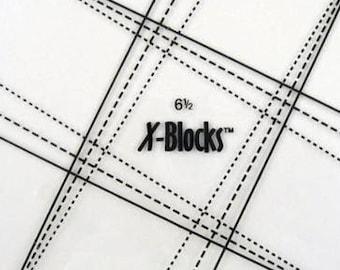 "X Blocks Tool 6 1/2"" XB 65 Quilt Queen Design"