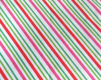 "Remnant 32"" - Christmas Candy Stripes -  by Doodle Bug Designs for Riley Blake Designs"
