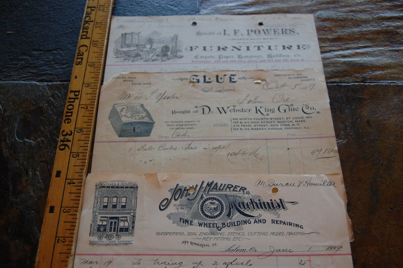 Antique Ephemera Furniture Store Salem Oregon Portland Oregon Etsy