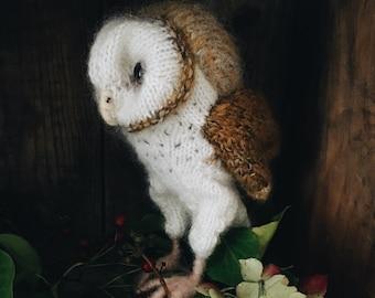 KNITTING PATTERN - Barn Owl