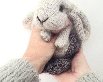 KNITTING PATTERN - Holland Lop Rabbit