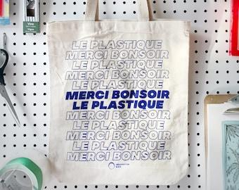 Sac - Merci Bonsoir le Plastique