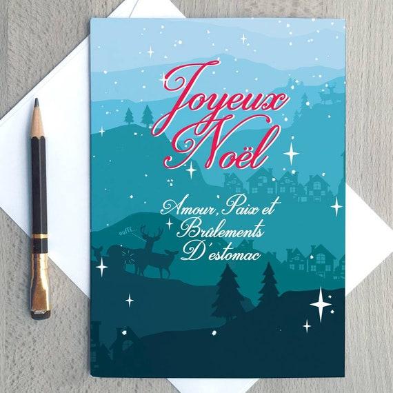 Carte De Souhaits Joyeux Noël