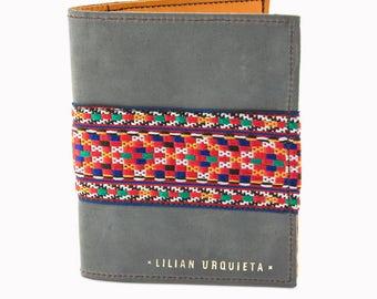 VERNE Leather Passport Cover, Passport Holder, Passport Wallet, Personalized Passport Cover.