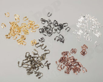 20 Wire Guardian thread Protector Gunmetal Jewelry Findings