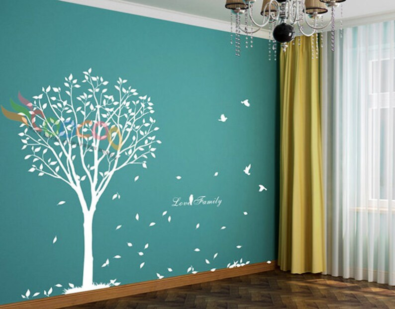 Wall Decals Nursery Wall Decal Tree Wall Decal Tree Large Vinyl Wall Decal