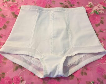 a8cf4090fa1 Never Worn Vintage Union Made White High Waisted Tummy Control Panties In A  Size 30-L By Adonna