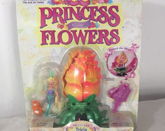 Princess TRICIA WITH HER BIRTHDAY PARTY Princess of the Flowers