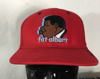 Never Worn Vintage Platinum FUBU Fat Albert Hat In A Size Small   Medium ~  Fat Albert And The Junkyard Gang 74308d51201