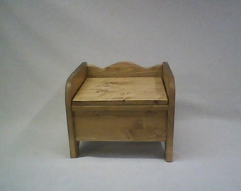 Exceptionnel Little Denver Wooden Potty Chair With Hinged Lid
