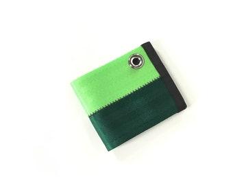 Wallet with Grommet - Seat Belt Chain Wallet - Vegan
