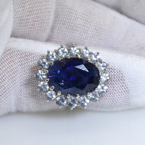 handmade princess diana engagement ring kate middleton ring etsy handmade princess diana engagement ring kate middleton ring 10 5 carat royal blue sapphire ring free shipping