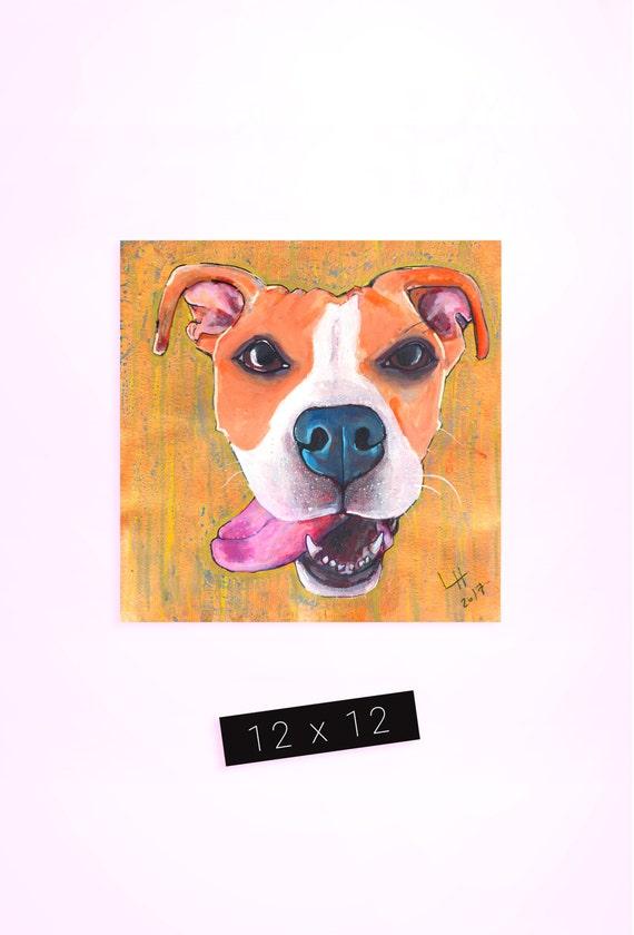 Pet Portrait / 12 x 12