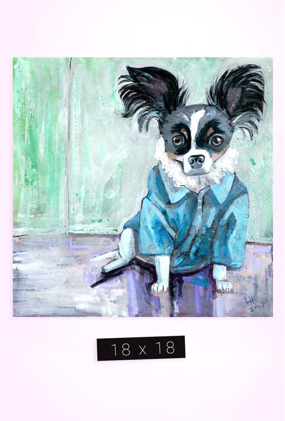 Pet Portrait / 18 x 18