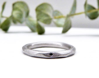 Sterling Silver Ring,3 Intertwined fixed rings,matt silver ring,Wide design ring,Handmade Jewelry,Trendy,wedding ring,engagement ring,boho