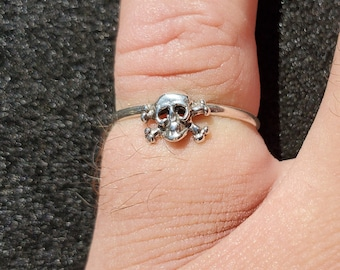 Crossbones Ring Etsy