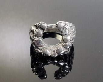 Size 8.5 Sterling Silver Horseshoe Ring