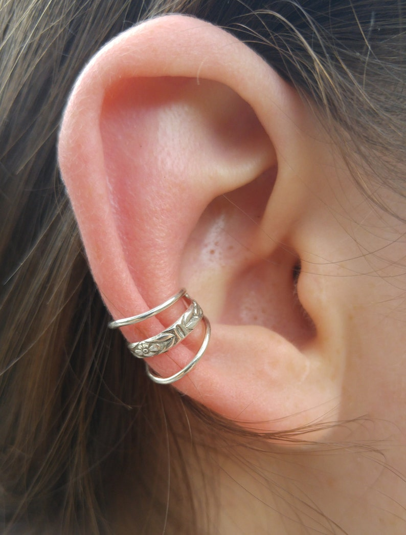 Sterling Silver Gallery Earcuff image 0