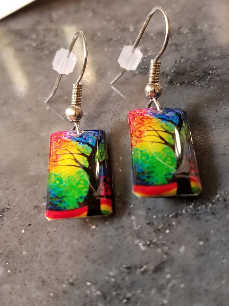 Handcrafted Designer Earrings Tree of Life Collection Gift for Her Artisan Earrings