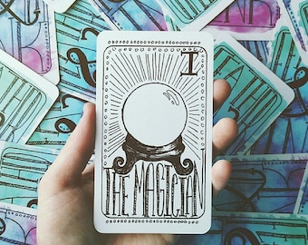 Tarot reading - one question, three cards