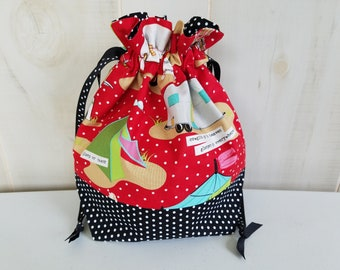 Sock Project Bag: Glamping