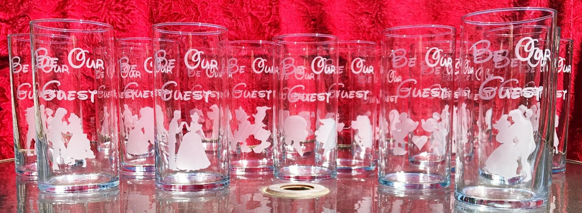 5 Engraved Wedding centerpieces Assorted Disney Theme Super   Etsy