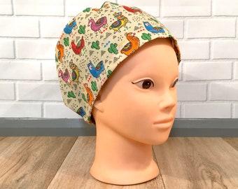 Scrub Hats - Elastic