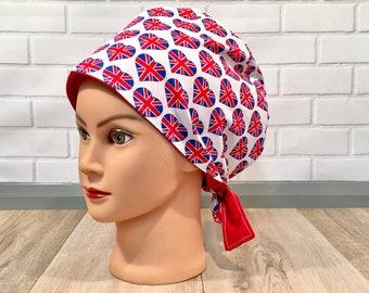 Scrub Hats - Tie Back