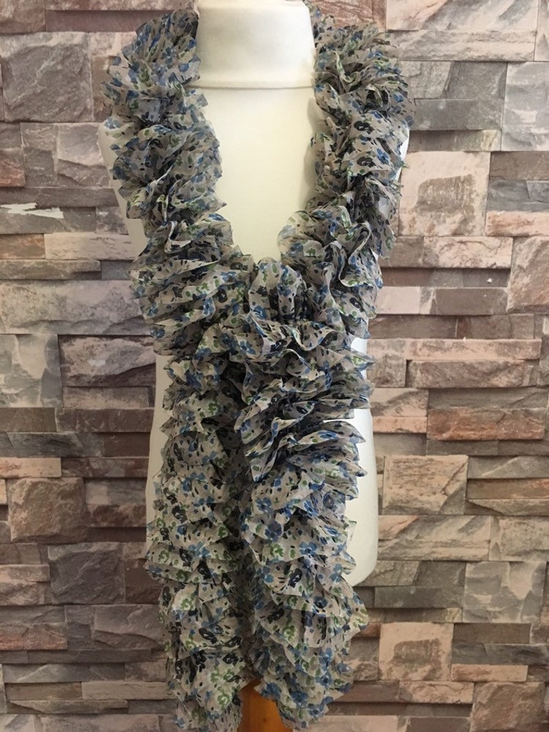 Ribbon-Knitted-Dress Scarf-Gift-Present-Accessories image 0