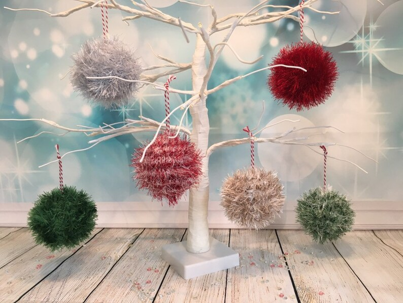 Knitted Christmas Bauble image 0