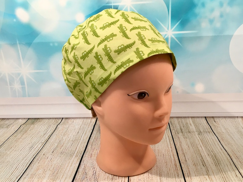 Surgical Scrub Hat Scrub Cap Unisex Elasticated Back Scrub image 0