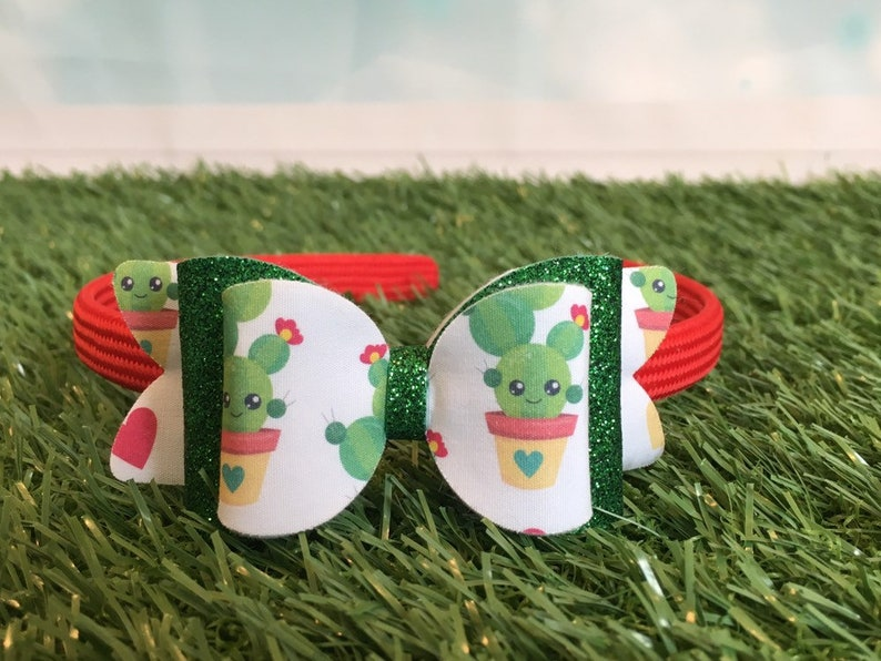 Cactus-Garden-Headband-Accessorie-Girl-Birthday-Princess-Gift image 0