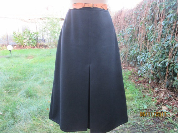 Pencil Wool Skirt / Woolen Skirt / Skirt Vintage /