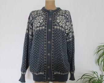 Woolen Sweater / Black Wool Jumper / Ladies Sweater / Mens Sweater / Unisex Sweater / Size EUR 44 / UK16 / Wool Black Jumper TwknWokV